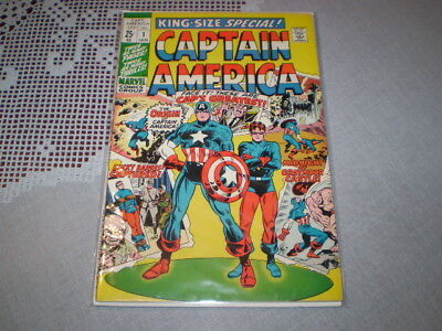 1971 King-Size Special! Captain America #1 Marvel Comic Book