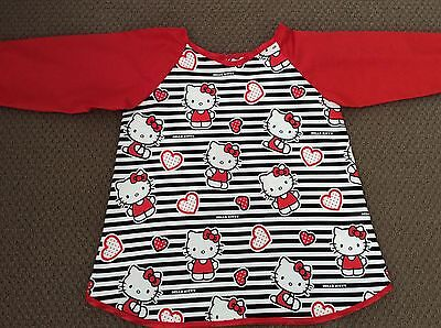 Hello Kitty Art Smock  AGE 4-7 Perfect For School Or Home