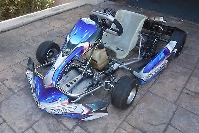 Arrow X2 Cadet Go Kart with Mini Rok Engine