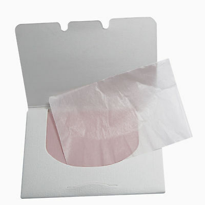 100 Sheets Make Up Oil Control Oil-Absorbing Blotting Facial Face Clean Paper FR