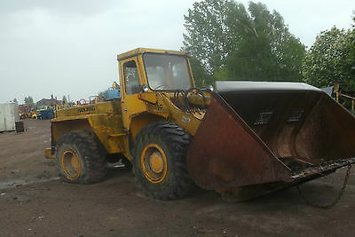 Hanomag 55C Breaking For Spares, 20.5X25 Tyres