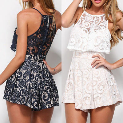 New Women Summer Playsuit Bodycon Clubwear Party Jumpsuit Romper Trousers Shorts