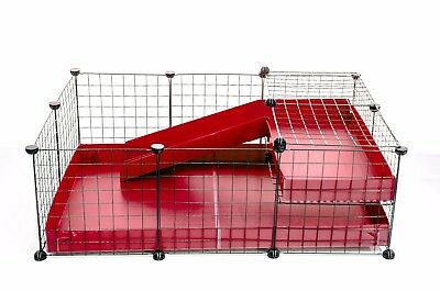 C&C cage 3x2 Loft for guinea pigs - ALL INCLUDED - CHEAPEST & BEST