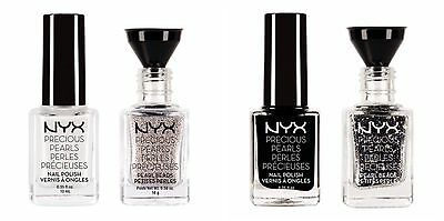 NYX Cosmetics Precious Pearls Nail Art Jewelry Polish Set Pick Your Color