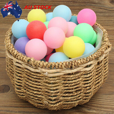 150PCS Ping Pong Ball Beer Table Tennis Lucky Dip Gaming Lottery Washable AU