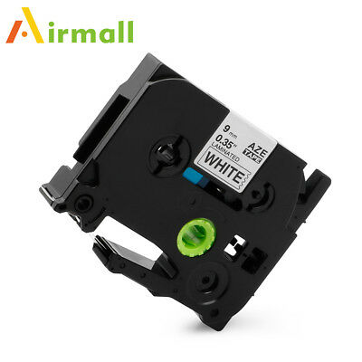 TZ221 TZe-221 Compatible for Brother P-Touch Label Tape Black on White 8m 9mm