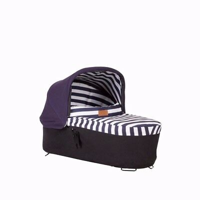 Mountain Buggy Carrycot Plus Luxury Collection + Storm Cover, Both Excellent