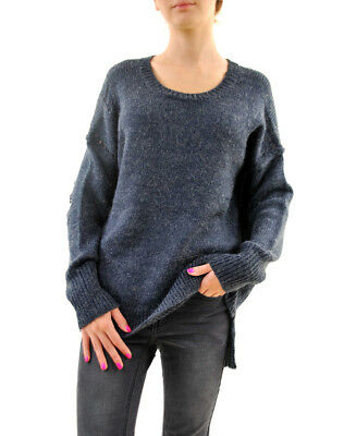 Wildfox women's Couture Night Solid Sweater Oxford Size S RRP 125 £BCF68