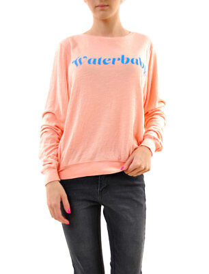 Wildfox Women's Waterbaby Baggy Beach Pullover Grapefruit Size M RRP £104 BCF68