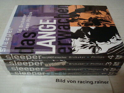 Sleeper Nr.1,2,3,4 (Cross Cult) HC Brubaker deutsch