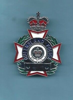 (Obsolete/Very Rare) QUEENSLAND POLICE Hat Badge