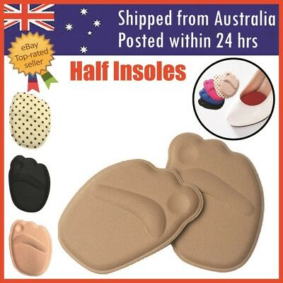 4D Memory Foam Insoles Cushion Shoe Insole Heel Massage Pads Inserts Heel Women