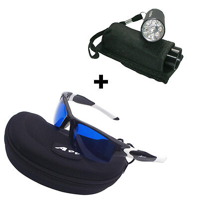 Das Golfball Finder - Sparpaket (Tag & Nacht) - LED Ballfinder + Brille