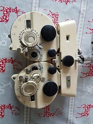Vintage RARE collectable opticians refractor head unit London