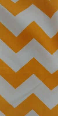 **SALE**Baby Cot Crib Rail Cover Teething Pad yellow Chevron padding