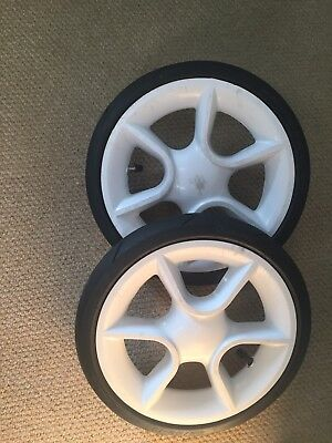 Quinny Moodd Pair Of Tyres And Wheels Used