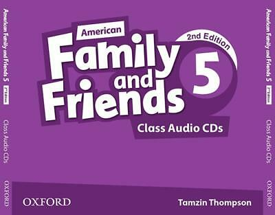 American Family and Friends 5. Class Audio CDs, Naomi Simmons