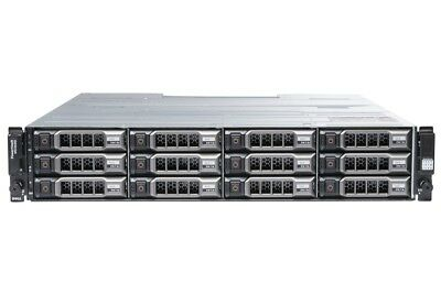 Dell PowerVault MD3600i - 12 x 2TB SAS, Dell Enterprise Class HDDs, Rails