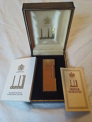 Dunhill Gold lighter new condition from the 80s