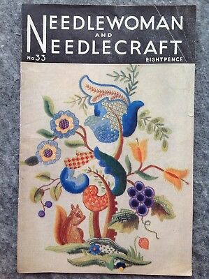 Needlewoman And Needlecraft Magazine No.33 January 1948