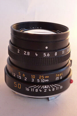 LEICA SUMMICRON-M 50mm f2 Version IV.