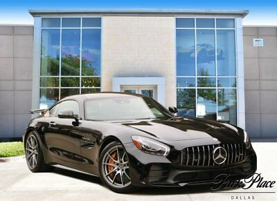 2018 Mercedes-Benz Amg Gt  2018 Coupe Used Twin Turbo Premium Unleaded V-8 4.0 L/243 Automatic RWD Black