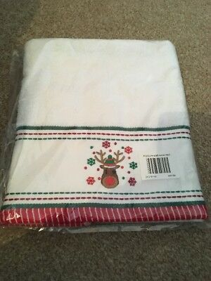 Christmas Hand Towels Rudolph
