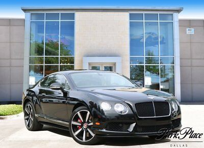 2014 Bentley Continental GT V8 S GT V8 Coupe 2-Door 2014 Coupe Used Twin Turbo Premium Unleaded V-8 4.0 L/244 Automatic AWD Black