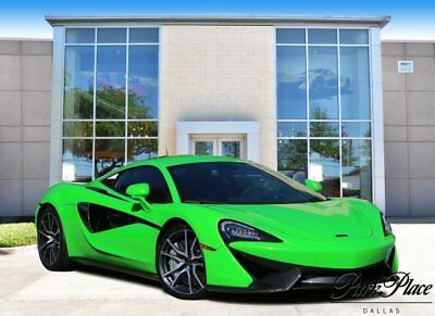 2016 McLaren 570s Base Coupe 2-Door 2016 Coupe Used Twin Turbo Premium Unleaded V-8 3.8 L/232 Automatic RWD Green
