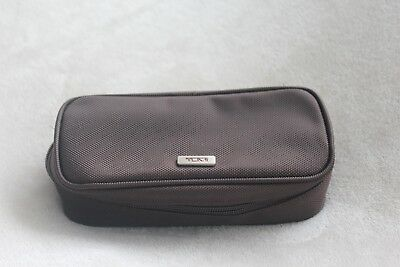 Tumi Inflight Amenity bag Brand New Brown Bag only