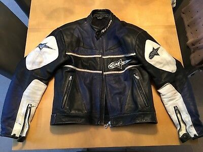 Alpinestars Leather Jacket Size 52 Large