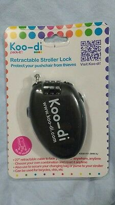 Koo-di Retractable Stroller Lock