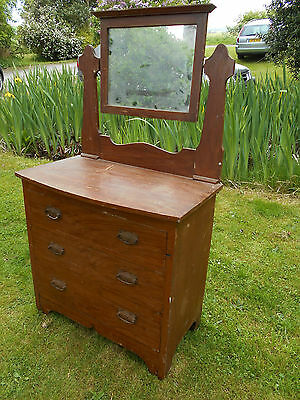 Victorian Pine Dressing Chest
