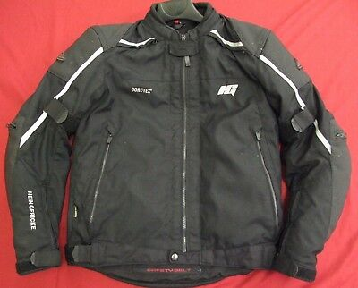 "HEIN GERICKE TRICKY GORETEX MOTORCYCLE JACKET UK 38"" 39""  Chest  EU 48 Medium"
