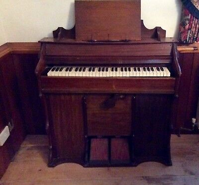 Pedal Operated Wooden Church /chapel Organ -Iwo
