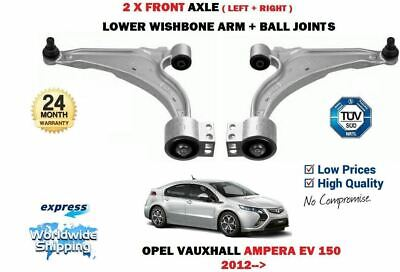 For Opel Vauxhall Ampera Ev 150 2012->New 2X Front Wishbone Suspension Arms Set