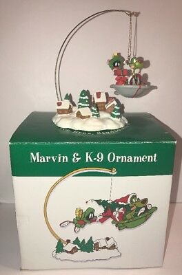 Warner Brothers Marvin & K-9 Ornament Studio Store Cartoon Network Christmas
