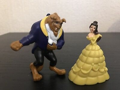 Disney Princess Belle Beauty And The Beast Figure Toy Set Cake Topper