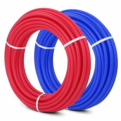 """1/2"""" x 100' Red and Blue PEX tubing (2) coils"""