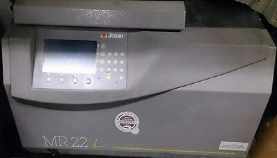 Jouan Inc, Model MR 22 Refrigerated Centrifuge without rotor