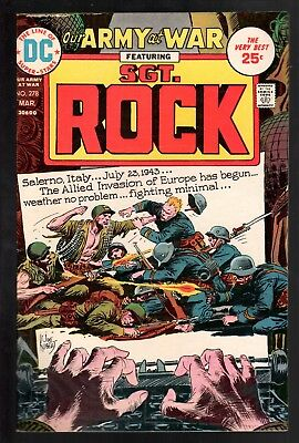 Our Army at War #278 VG/FN 5.0 DC Bronze Age War 1975!!!