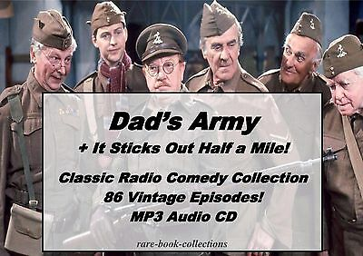 Dads Army - Complete Collection - 86 Old Time Comedy Radio Shows - Audio Mp3 Cd