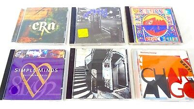 Music CDs Lot of 6 . ERA . MORCHEEBA . OMD . SPIN DOCTORS . S MINDS . MAZZY STAR