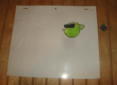 Original REAL GHOSTBUSTERS Cartoon Series SLIMER #3 Production Animation Cel DIC