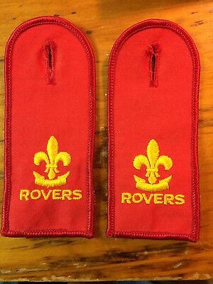 Canadian Rover Epaulets