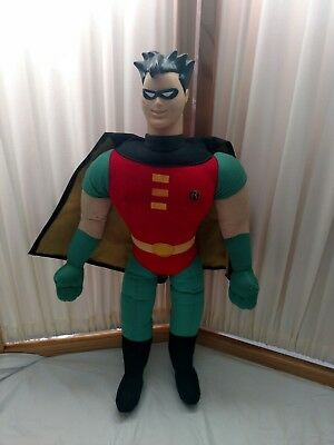 BATMAN AND ROBIN ROBIN 27 inch Plush with plastic head New with Tag