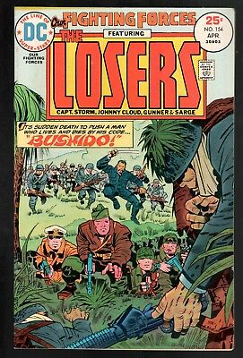 Our Fighting Forces #154 FN+ 6.5 DC Bronze Age War 1975 Jack Kirby The Losers!!!