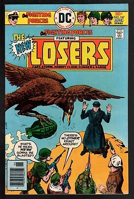 Our Fighting Forces #167 VG/FN 5.0 DC Bronze Age War 1976 The Losers!
