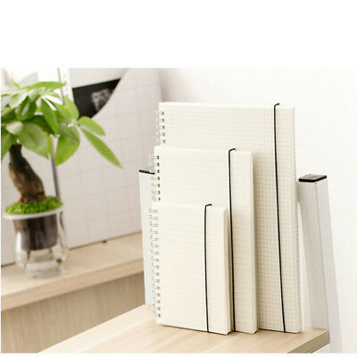 New A5/A6/B5 Metallic Notepad Spiral Pad - Book Lined Paper Notebook Tabbed