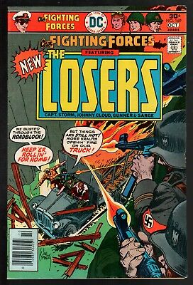 Our Fighting Forces #169 VG/FN 5.0 DC Bronze Age War 1976 The Losers!